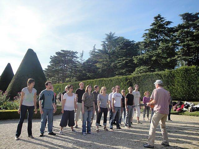 Concert de la chorale de jeunes Incognito de Paris au parc de Sceaux pour les journées du patrimoine